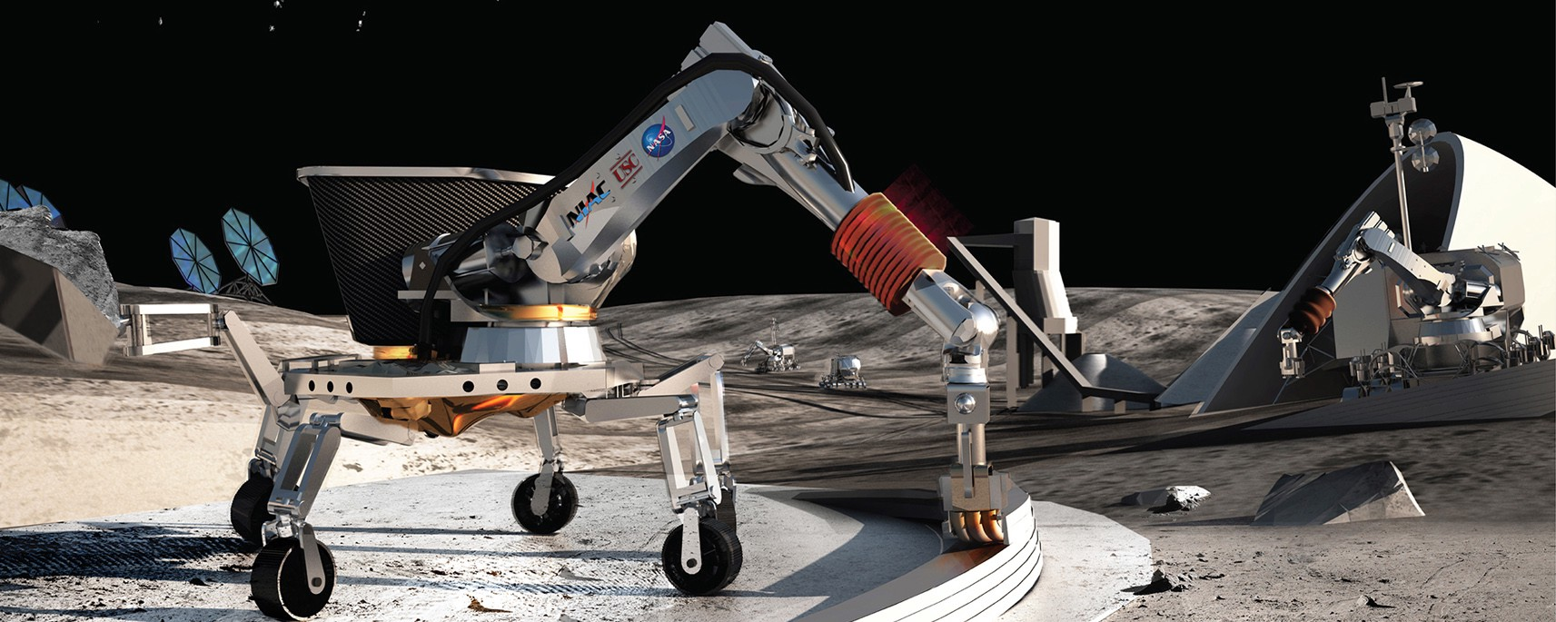 Here's How Robots Could Autonomously Build On Mars